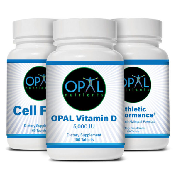 Athletic Performance Package - OPAL Nutrients Supplements